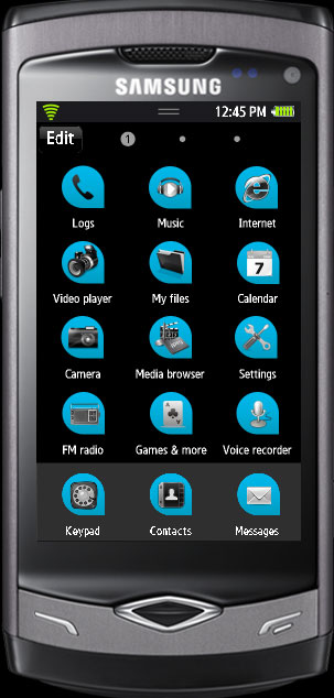Free Samsung Bada Themes : Samsung Wave :: Ramesh kumar